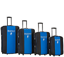 Rockland Polo Equipment 4pc Luggage Set - F249092