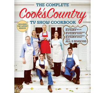 The Complete Cook's Country TV Show Cookbook Season 9 - F12493