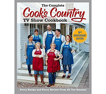 """The Complete Cook's Country TV Show Cookbook"" Season 10 - F12993"