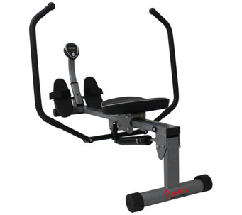 Sunny Health & Fitness Rowing Machine with FullMotion Arms - F248993