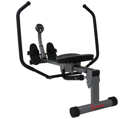 Sunny Health & Fitness Rowing Machine with FullMotion Arms