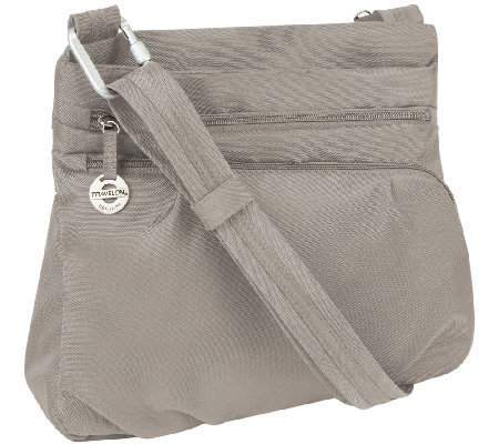 Travelon Anti-Theft Convertible Crossbody w/ Power Pack