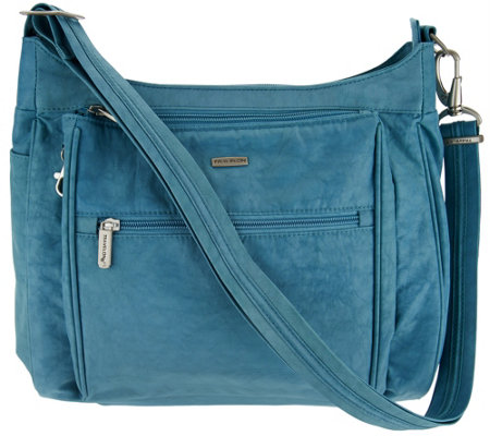 Travelon Anti-Theft Stacked Zipper RFID Crossbody
