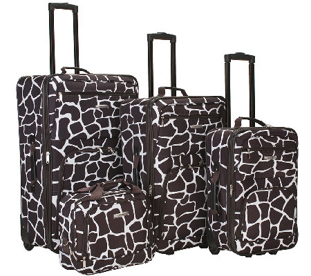Fox Luggage 4pc Luggage Set