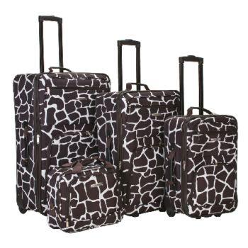 Fox Luggage 4pc Luggage Set