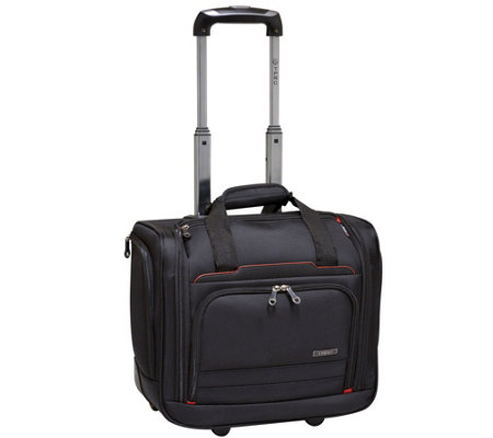 "Travelers Club 16"" Flex-File Under-Seat Carry-On"