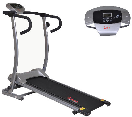 Sunny Health & Fitness SF-T1409M Magnetic Manual Treadmill