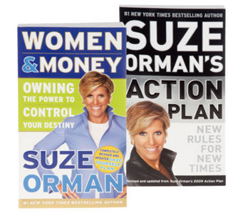 "Suze Orman ""Women & Money"" & ""Action Plan"" Book Set - F08796"