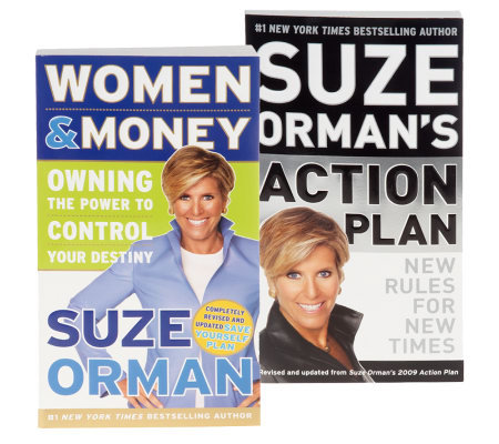 "Suze Orman ""Women & Money"" & ""Action Plan"" Book Set"