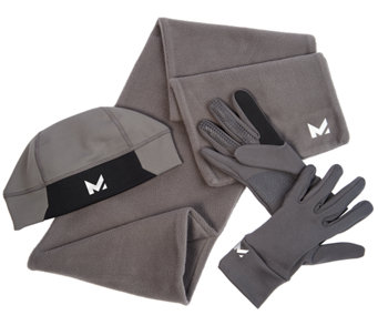 Mission RadiantActive Men's Scarf, Gloves & Beanie - F12396