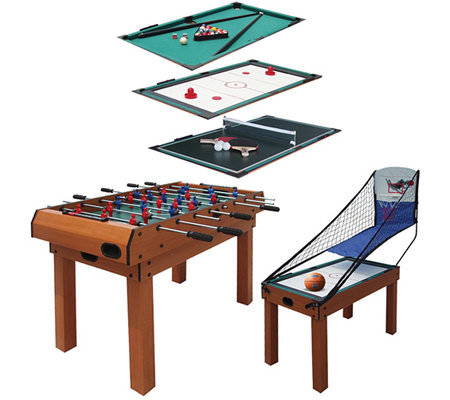 spartan sports 5 in 1 combination table page 1