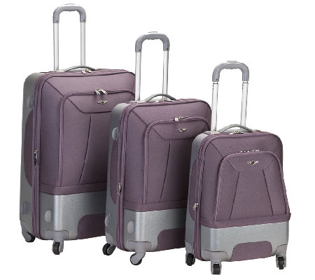 Fox Luggage Rome 3pc Luggage Set