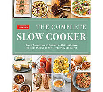 """The Complete Slow Cooker Cookbook"" by America's Test Kitchen - F13097"
