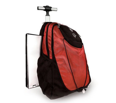 Heys ePac01 Rolling Backpack w/ Sideloading Laptop Compartment ...