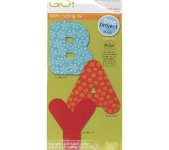 "GO! Fabric Cutting Dies - 2"" Shapes - F195898"