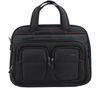 "Travelers Club 17"" Flex-File Laptop Briefcase - F249398"