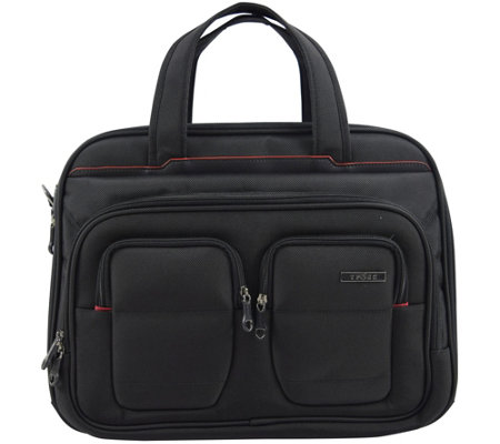"Travelers Club 17"" Flex-File Laptop Briefcase"