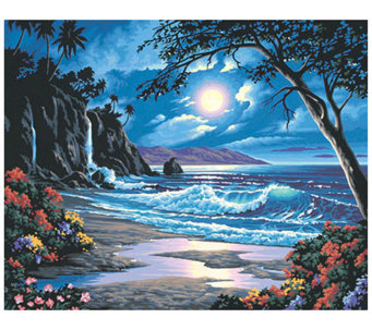 Paint-by-Number Kit - Moonlit Paradise - F180099