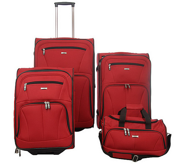 Ciao! 4-pc. Ultra Lightweight Expandable Luggage Set - Page 1 ...