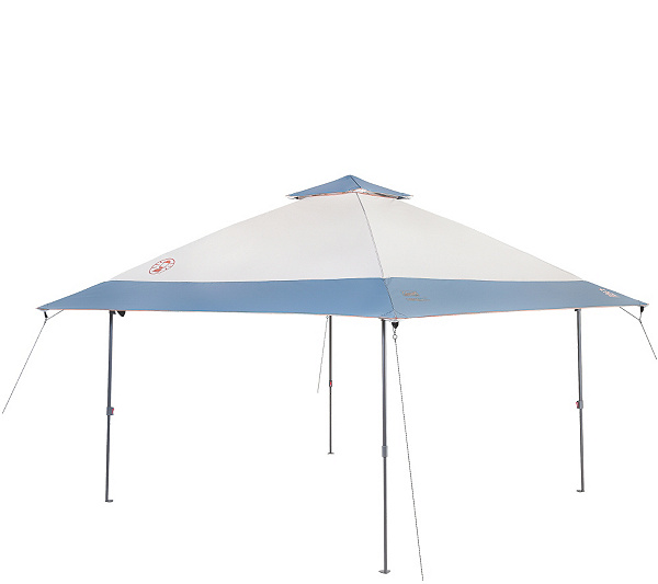 Coleman All Night 13x13 Eaved Lighted Instant Shelter QVC
