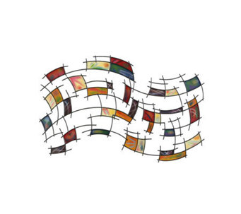 Abstract Metal Wall Art - H155600