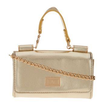 Petite Handbag with Detachable Chain by Lori Greiner
