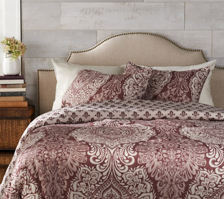 Home Reflections King 3-piece Quinn Comforter Set