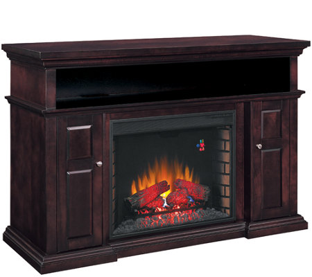 Twin Star Pasadena Home Theater Electric Fireplace w/ Remote