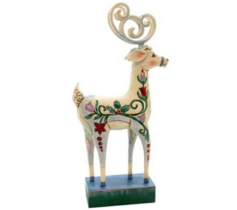 Jim Shore Winter Wonderland Reindeer - H290200
