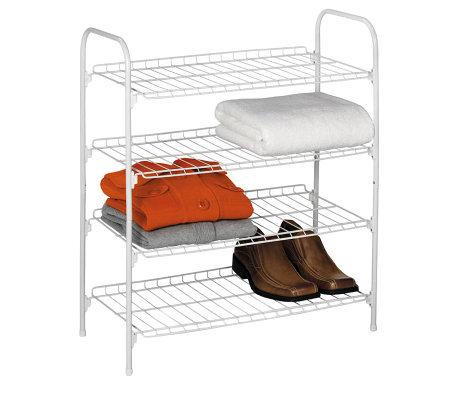 Honey-Can-Do 4-Tier Closet Shelf