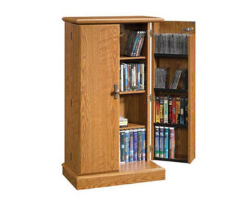 Sauder Orchard Hills Collection Multimedia Storage Cabinet - H140601