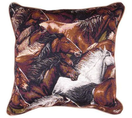 &quotHorse of a Different Color&quot Pillow by Simply Home