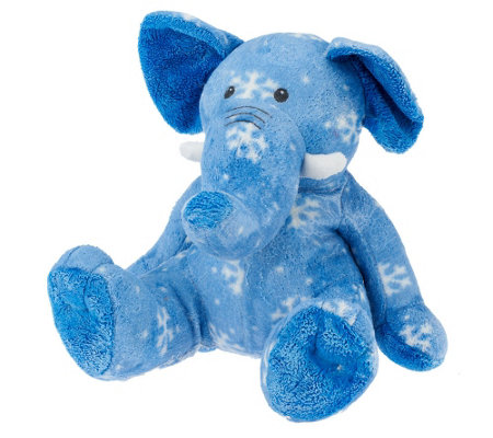 Whip City Candle Co. Soy Wax Hand-Dipped Plush Elephant