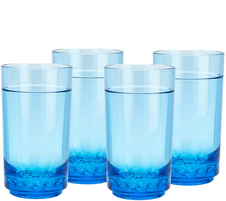 Drinique Set of 4 14 oz Elite Tall Tumblers