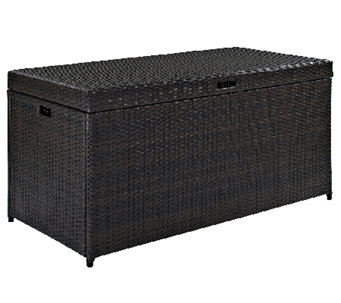 Crosley Palm Harbor Outdoor Wicker Storage Bin - H282901