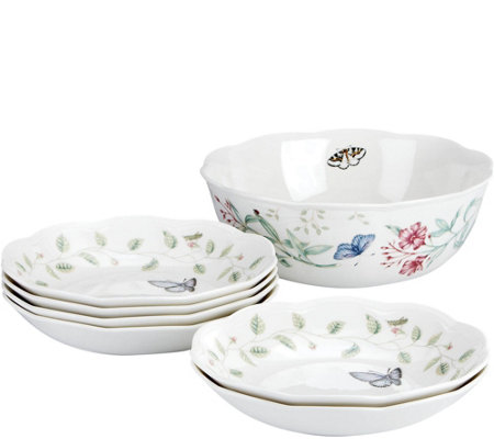 Lenox Butterfly Meadow 7-Piece Pasta Set