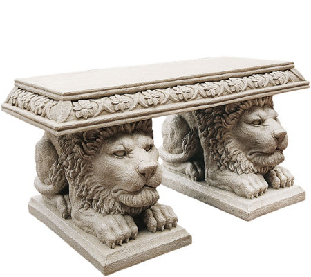 Design Toscano Grand Lion of St. John's SquareBench