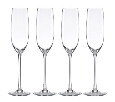 Lenox Tuscany Classics Set of 4 Fluted Champagne Glasses