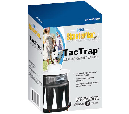 SkeeterVac Mosquito Trap TacTrap Replacement Bait