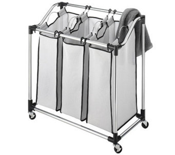 Whitmor Laundry Sorter Mesh Bag - Chrome - H367801