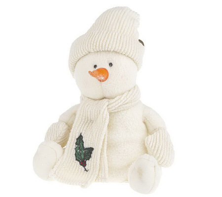 Whip City Candle Co. Soy Wax Hand-Dipped Scented Snowman