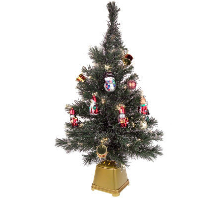 "32"" Fiber Optic Decorated Christmas Tree"