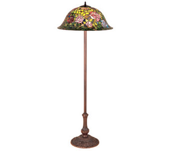 Tiffany Style Rosebush Floor Lamp - H112302