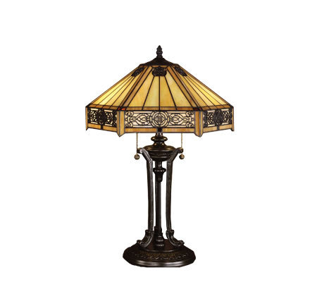 Tiffany Style Indus Table Lamp
