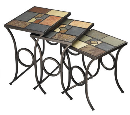 Hillsdale Furniture Pompei Nesting Tables - Setof 3