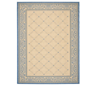 "Safavieh Courtyard Lattice Flower 7' 10"" x 11'Rug - H179002"