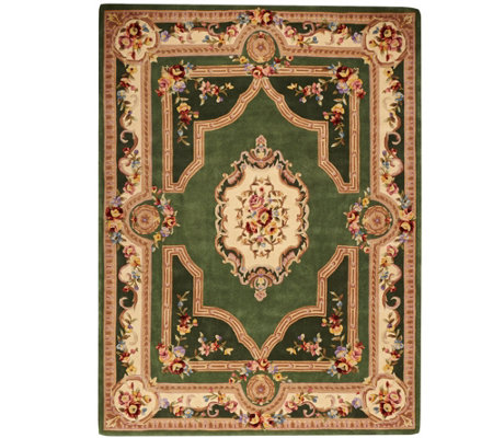 "Royal Palace French Savonnerie 8' x 10'6"" Wool Rug"