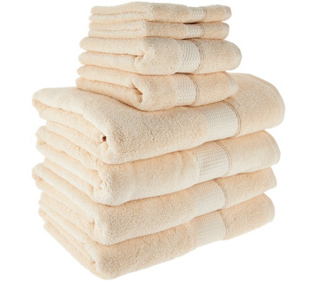 Northern Nights 8 Piece 600gsm 100% Cotton Towel Set