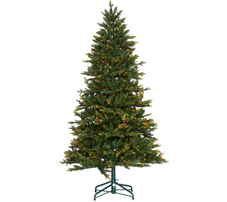 """As Is"" Bethlehem Lights 7.5' Lancaster Pine Tree"