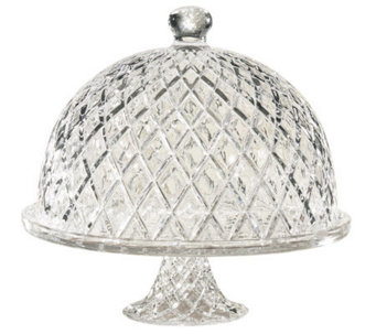 Muirfield Pedestal Cake Plate with Dome - H280402